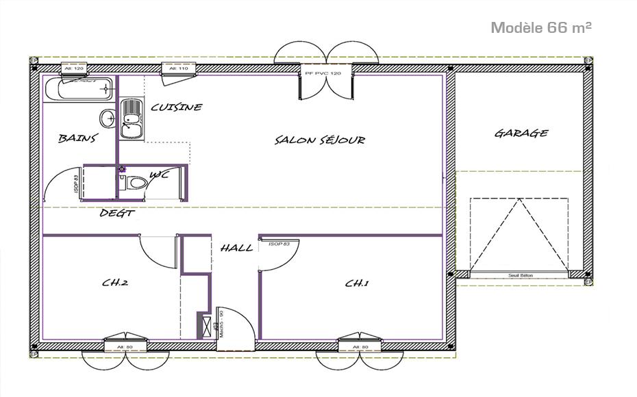 Plan de la maison 3
