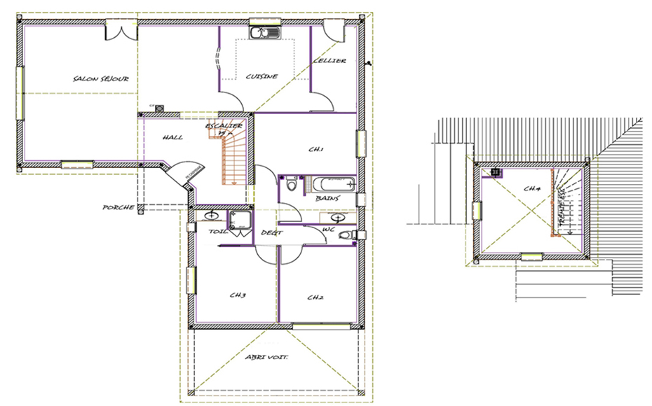 Maison p rigourdine pasipha for Modele de fenetre dans une maison