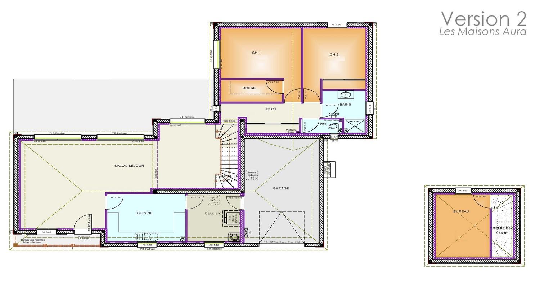 Plan de la maison Etage / Sous Sol