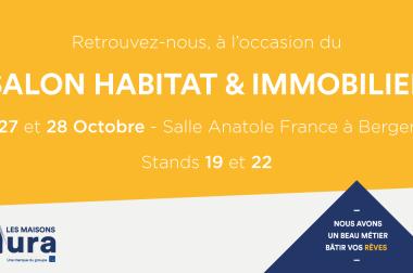 Venez nous rencontrer au Salon Habitat & Immobilier de Bergerac