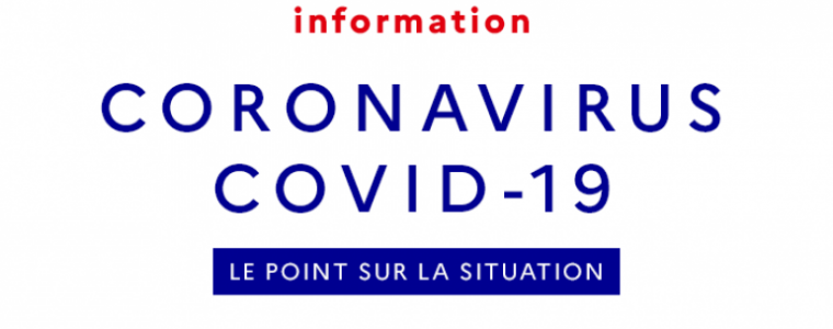 Logo gouvernement Coronavirus