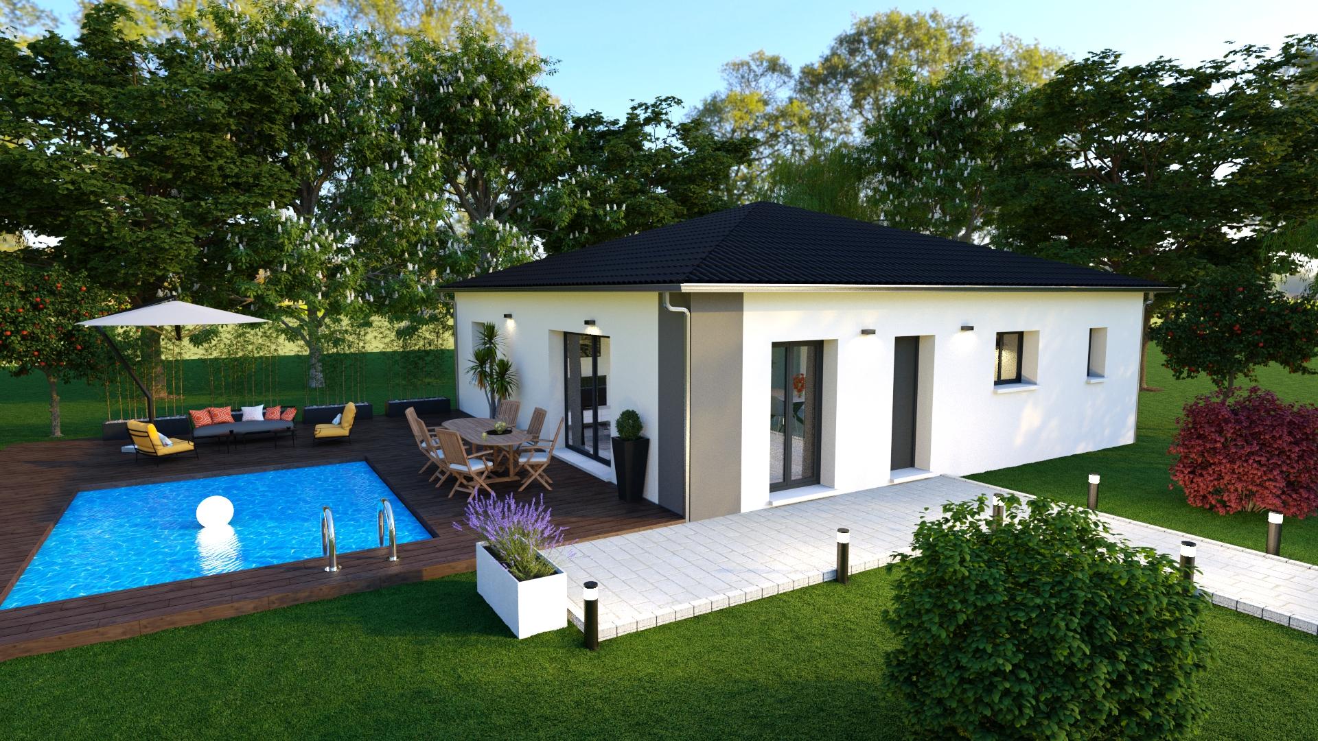 Modele Maison Neuve Alexandra Les Maisons Aura
