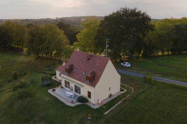 Une maison typique du Périgord