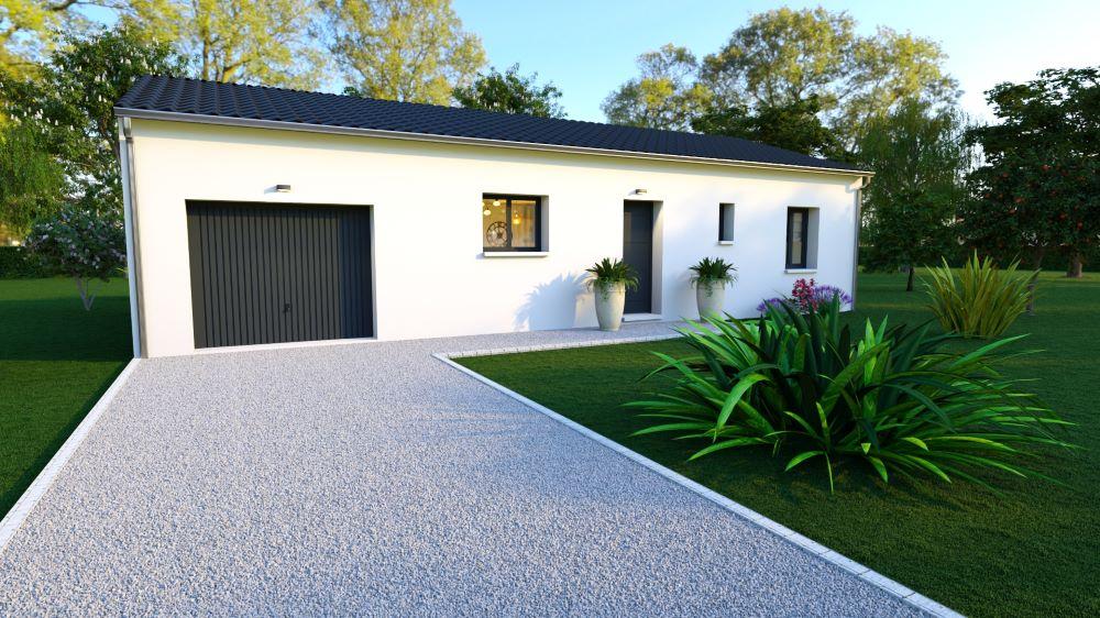 Maisons deux chambres et garage en Dordogne